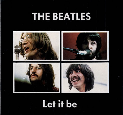 The Beatles Let It Be Uk 3 Quot Cd Single Cd3 102475