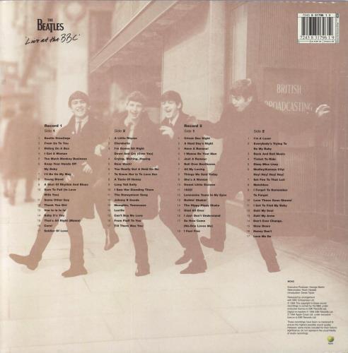 The Beatles Live At The BBC - EX 2-LP vinyl record set (Double Album) UK BTL2LLI699508