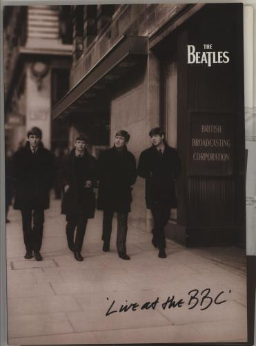 The Beatles Live At The BBC - Photos & Slides media press pack UK BTLPPLI750461