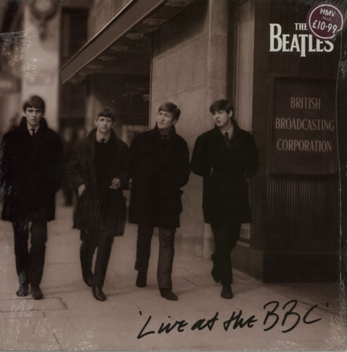 The Beatles Live At The BBC - Price Stickered & Sealed 2-LP vinyl record set (Double Album) UK BTL2LLI589671