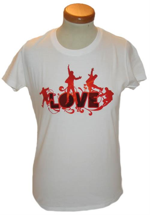 The Beatles Love - large skinny-fit t-shirt UK BTLTSLO431396