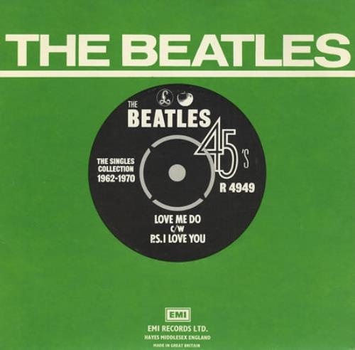 "The Beatles Love Me Do - 1976 7"" vinyl single (7 inch record) UK BTL07LO183424"