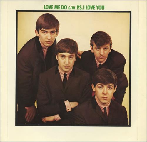 "The Beatles Love Me Do - 1976 7"" vinyl single (7 inch record) UK BTL07LO183424"