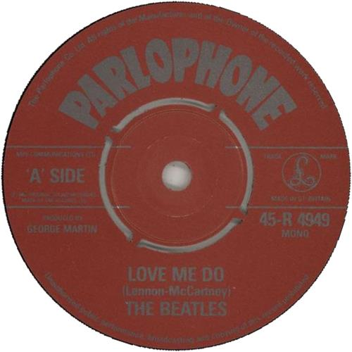 "The Beatles Love Me Do - 1982 7"" vinyl single (7 inch record) UK BTL07LO646357"