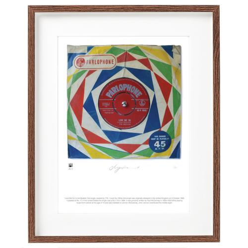 The Beatles Love Me Do - SuperSizeArt Numbered Print artwork UK BTLARLO731107
