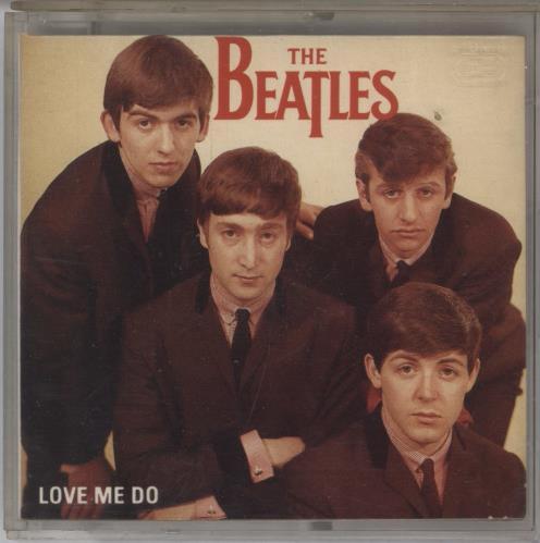 "The Beatles Love Me Do 3"" CD single (CD3) UK BTLC3LO768263"