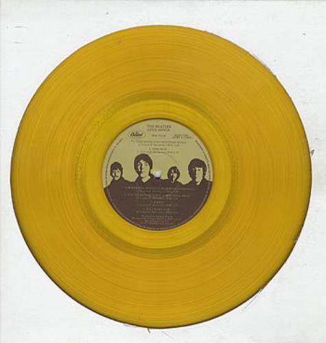The Beatles Love Songs - Gold Vinyl 2-LP vinyl record set (Double Album) Canadian BTL2LLO307325