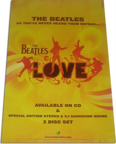 The Beatles Love poster UK BTLPOLO392822