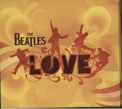 The Beatles Love 2-disc CD/DVD set UK BTL2DLO750149