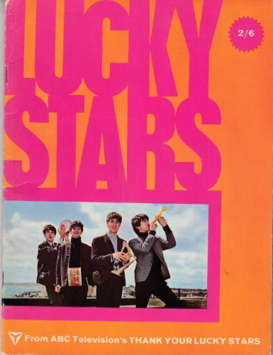 The Beatles Lucky Stars magazine UK BTLMALU716163