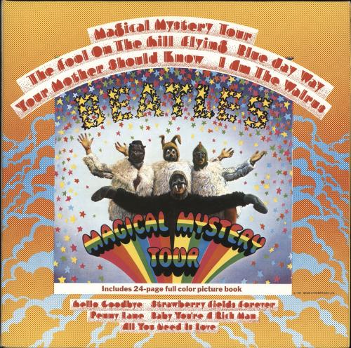 The Beatles Magical Mystery Tour - 1988 vinyl LP album (LP record) UK BTLLPMA704089