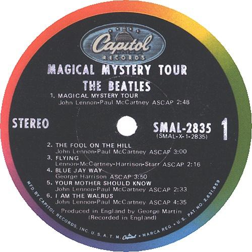 The Beatles Magical Mystery Tour 2nd Us Vinyl Lp Album
