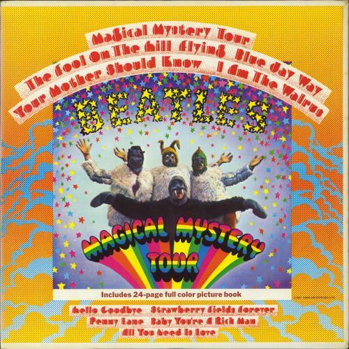 The Beatles Magical Mystery Tour - Apple vinyl LP album (LP record) US BTLLPMA114825