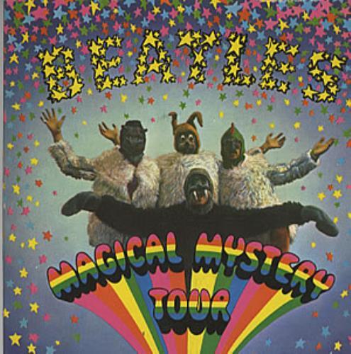 "The Beatles Magical Mystery Tour - Pale Green Lyrics 7"" vinyl single (7 inch record) French BTL07MA146078"