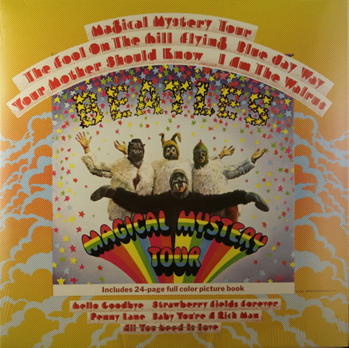 The Beatles Magical Mystery Tour - Sealed vinyl LP album (LP record) UK BTLLPMA551622