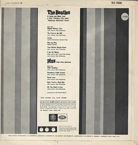 The Beatles Magical Mystery Tour And Other Splendid Hits vinyl LP album (LP record) New Zealand BTLLPMA318433