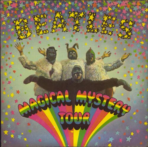 "The Beatles Magical Mystery Tour EP - 1st - 4pr - WOL 7"" vinyl single (7 inch record) UK BTL07MA767108"