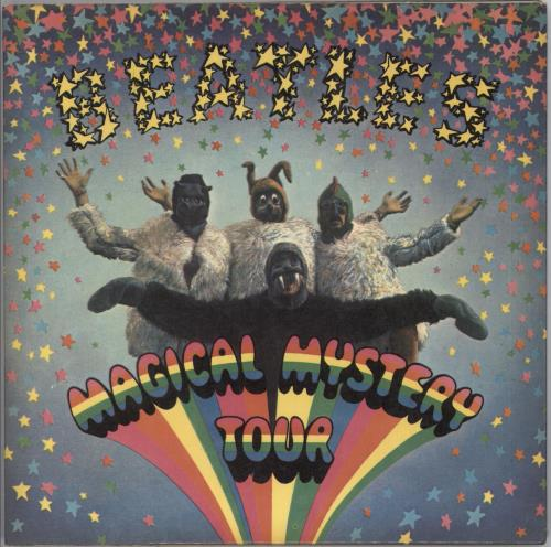"The Beatles Magical Mystery Tour EP - 1st - Solid 7"" vinyl single (7 inch record) UK BTL07MA80051"