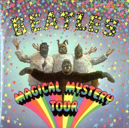 "The Beatles Magical Mystery Tour EP - 4th 7"" vinyl single (7 inch record) UK BTL07MA63373"