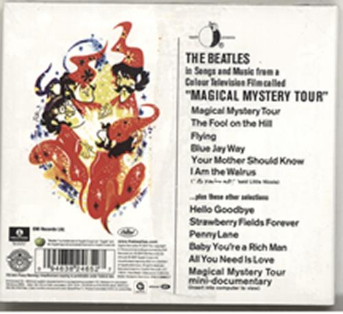 The Beatles Magical Mystery Tour CD album (CDLP) UK BTLCDMA478115