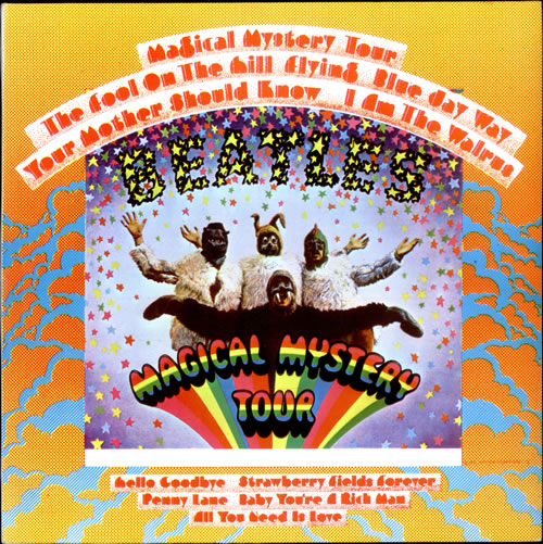 The Beatles Magical Mystery Tour Portugese Vinyl Lp Album