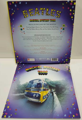 The Beatles Magical Mystery Tour DVD UK BTLDDMA646594