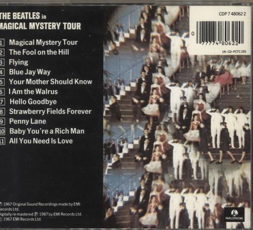 The Beatles Magical Mystery Tour CD album (CDLP) UK BTLCDMA747767