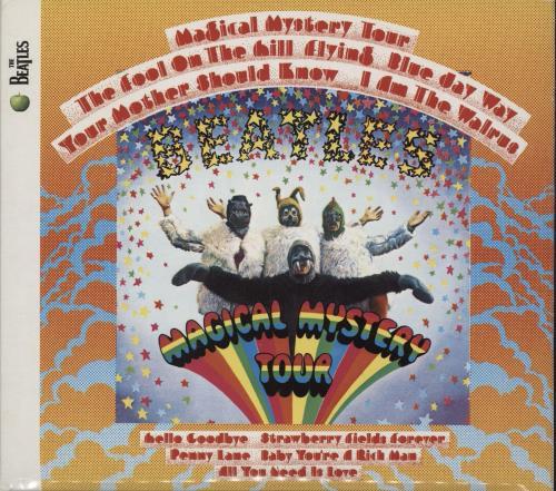 The Beatles Magical Mystery Tour CD album (CDLP) UK BTLCDMA753396