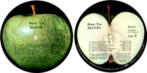 The Beatles Meet The Beatles Apple Label With Capitol