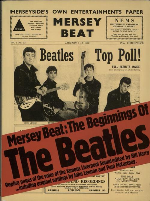 The Beatles Mersey Beat: The Beginnings Of The Beatles book UK BTLBKME369984