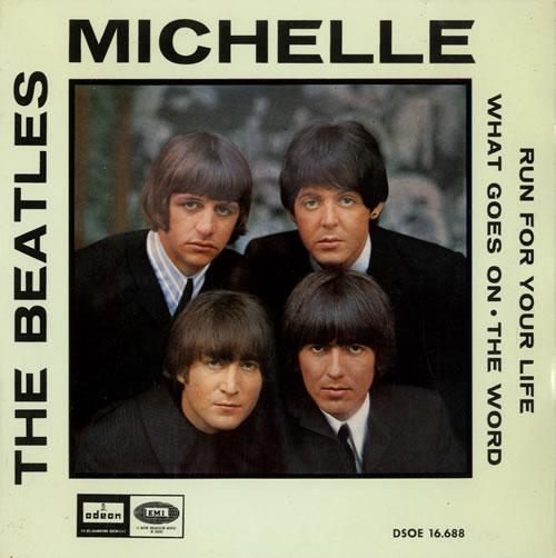 The Beatles Michelle Ep Spanish 7 Quot Vinyl Single 7 Inch