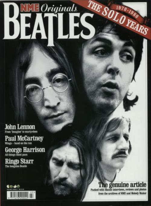 The Beatles NME Originals - Volume 2 Issue 3 magazine UK BTLMANM603334