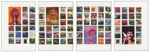 The Beatles No 1 Hits handbill Mexican BTLHBNO169832