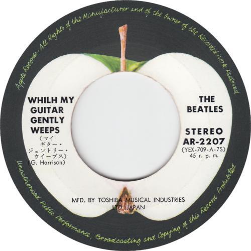 "The Beatles Ob-La-Di, Ob-La-Da - 1st - Red 7"" vinyl single (7 inch record) Japanese BTL07OB221142"
