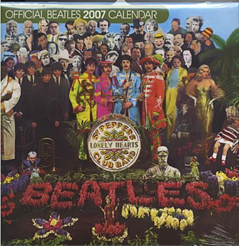 The Beatles Official Calendar 2007 calendar UK BTLCAOF353594
