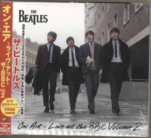 The Beatles On Air - Live At The BBC Volume 2 2 CD album set (Double CD) Japanese BTL2CON712892
