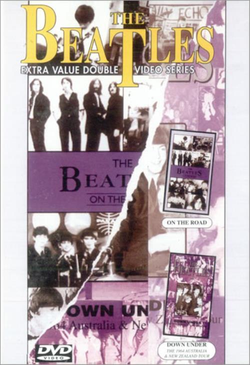 The Beatles On The Road / Down Under DVD UK BTLDDON277464
