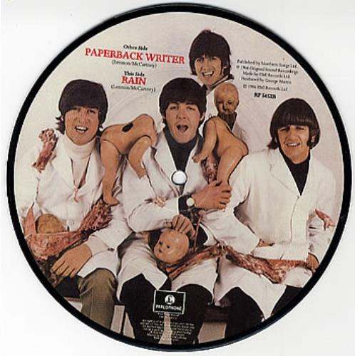 "The Beatles Paperback Writer 7"" vinyl picture disc 7 inch picture disc single UK BTL7PPA24664"