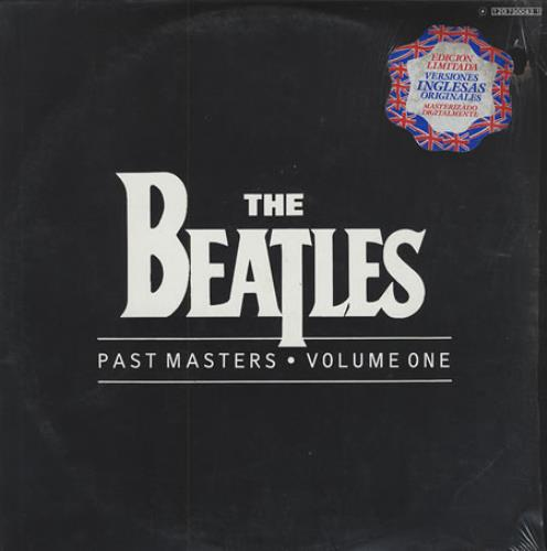 The Beatles Past Masters Volumes One And Two 2-LP vinyl record set (Double Album) Mexican BTL2LPA354554