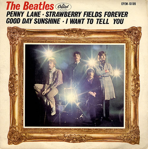 """The Beatles Penny Lane EP Mexican 7"""" vinyl single (7 inch record ..."""
