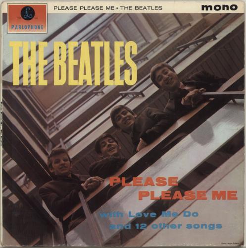 The Beatles Please Please Me - 1st (Northern Songs) vinyl LP album (LP record) UK BTLLPPL680880