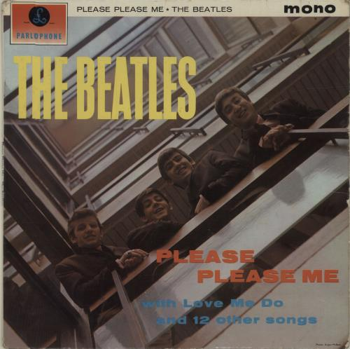 The Beatles Please Please Me - 1st [Northern Songs] - VG vinyl LP album (LP record) UK BTLLPPL680881