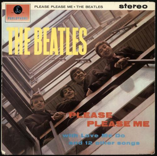 The Beatles Please Please Me - 1st - EX- vinyl LP album (LP record) UK BTLLPPL569998