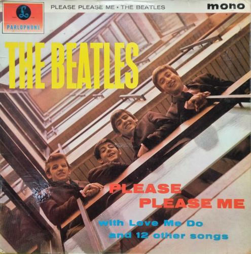 The Beatles Please Please Me - 1st - VG vinyl LP album (LP record) UK BTLLPPL711465