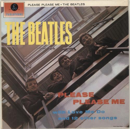 The Beatles Please Please Me - 2 Box - Gram - VG vinyl LP album (LP record) UK BTLLPPL677039