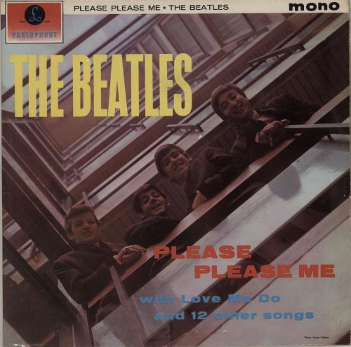 The Beatles Please Please Me - 5th - VG+ vinyl LP album (LP record) UK BTLLPPL583607