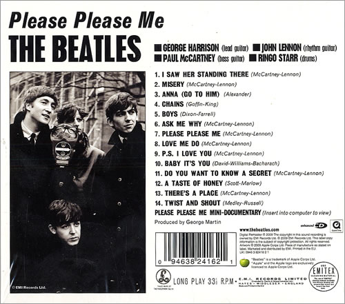 The Beatles Please Please Me - Sealed CD album (CDLP) UK BTLCDPL478104