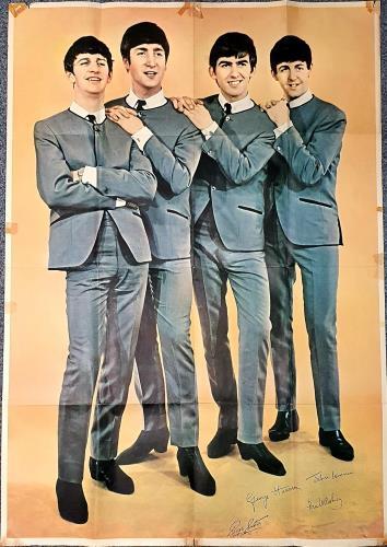 The Beatles Portrait Poster poster UK BTLPOPO764624