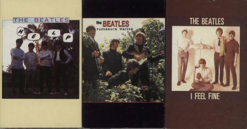 "The Beatles Quantity of 4 Beatles Cassette Singles CD single (CD5 / 5"") UK BTLC5QU682692"
