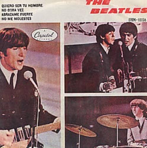 "The Beatles Quiero Ser Tu Hombre 7"" vinyl single (7 inch record) Mexican BTL07QU39154"